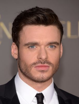 """HOLLYWOOD, CA - MARCH 01: Actor Richard Madden attends the premiere of Disney's """"Cinderella"""" at the El Capitan Theatre on March 1, 2015 in Hollywood, California. (Photo by Jason Kempin/Getty Images)"""