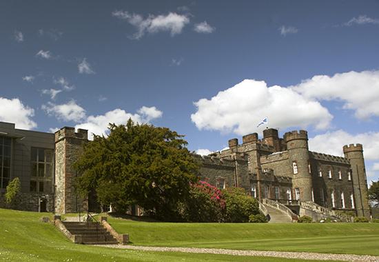 Castle Exterior With Flower WEB