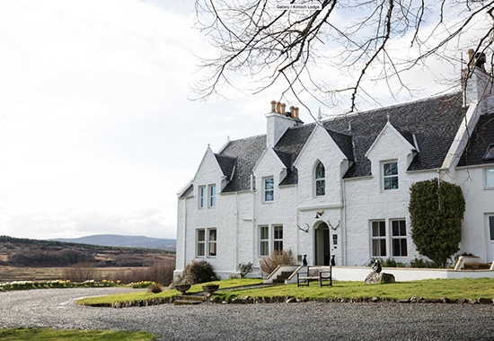 1. Kinloch Lodge Skye - pic from their website