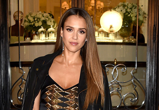 NEW YORK, NY - SEPTEMBER 14: Jessica Alba attends the Ralph Lauren fashion show during New York Fashion Week: The Shows at Skylight Clarkson Sq on September 14, 2016 in New York City. (Photo by Jamie McCarthy/Getty Images for New York Fashion Week: The Shows)