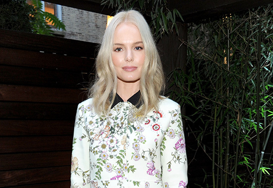 NEW YORK, NY - AUGUST 03: Actress Kate Bosworth attends a Kim Crawford Wines celebration of Summer at The House of Kim Crawford on August 3, 2016 in New York City. (Photo by Craig Barritt/Getty Images for Kim Crawford Wines)