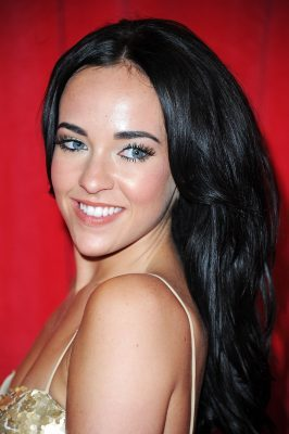 LONDON, ENGLAND - MAY 24: Stephanie Davis attends the British Soap Awards at Hackney Empire on May 24, 2014 in London, England. (Photo by Stuart C. Wilson/Getty Images)