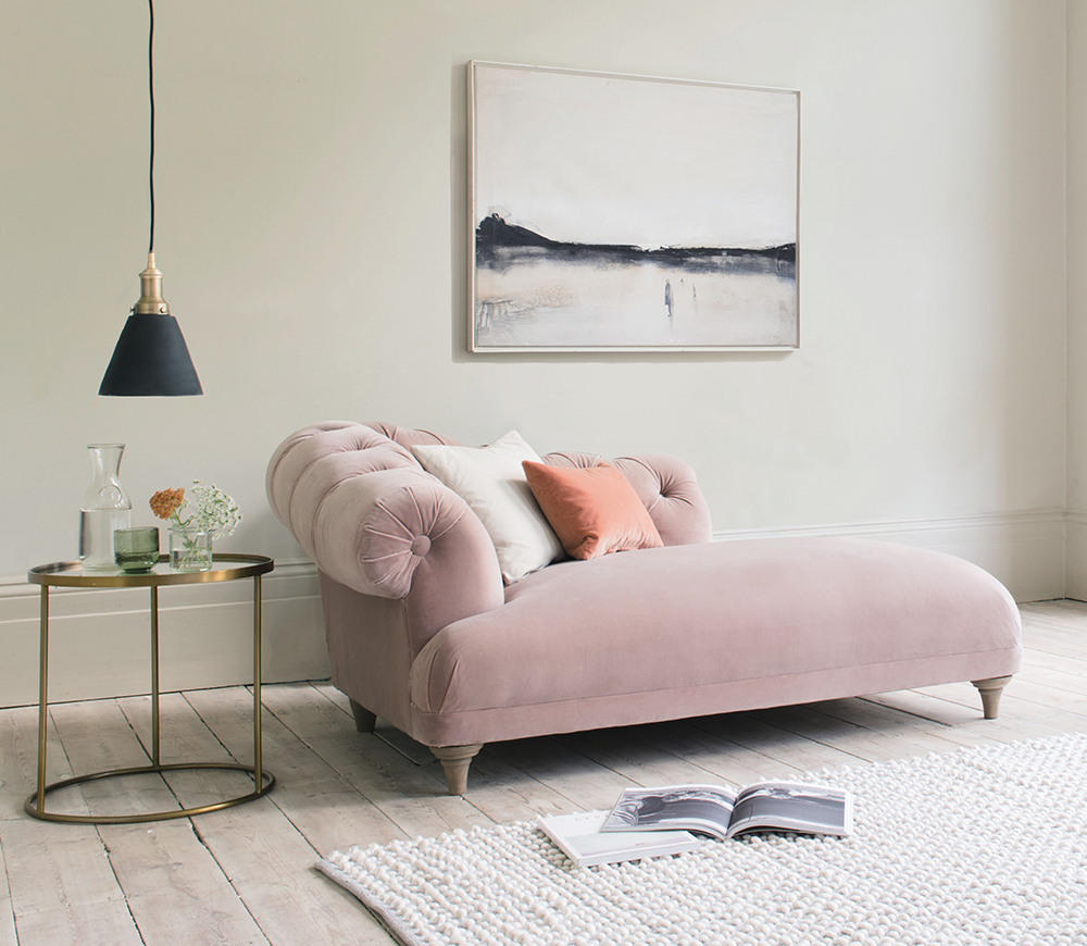 Loaf Blush Chaise