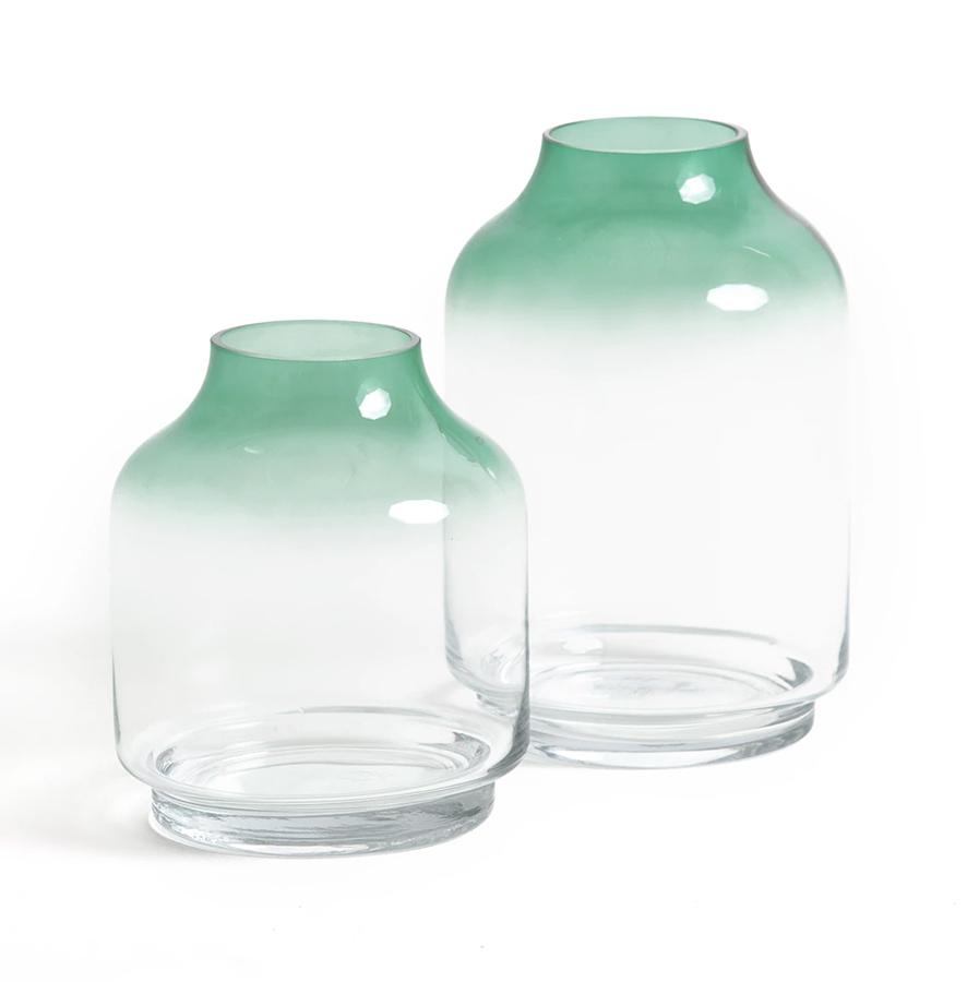 La Redoute green vase