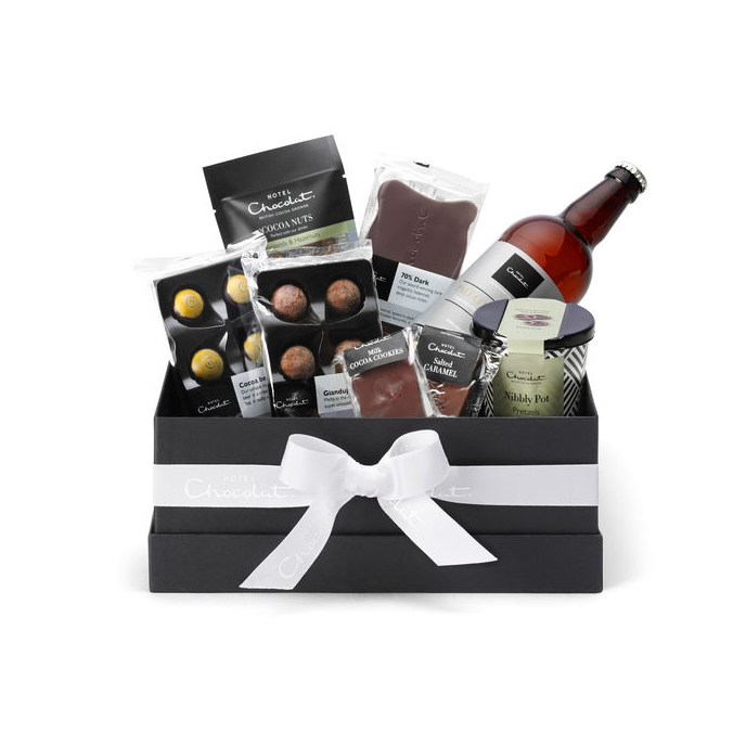 Father's Day Gift Ideas For Your Stylish Dad - Hotel Chocolat Beer and Chocolate