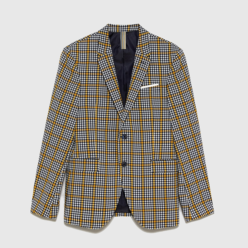 Father's Day Gift Ideas For Your Stylish Dad - Zara Check Blazer