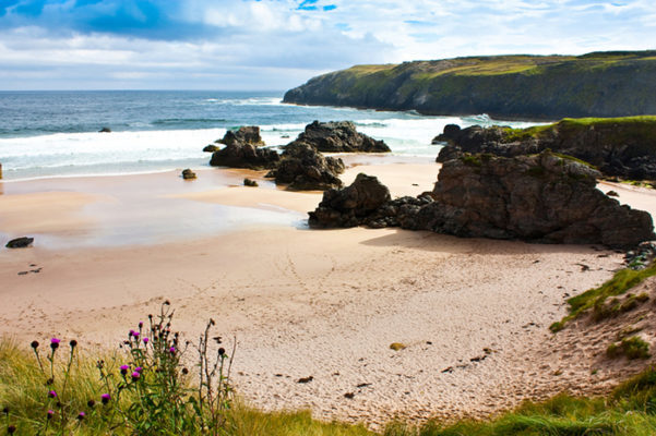 Award winning Durness spectacular beach, Sutherland, Scotland. One of the best beaches in Scotland
