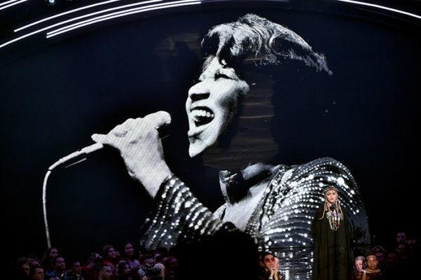 Madonna at the VMAs