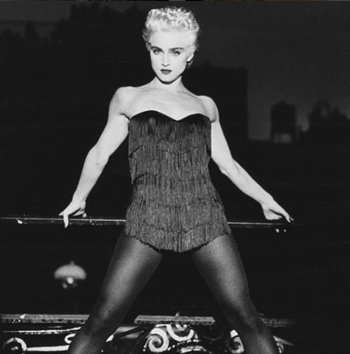 Madonna Style Evolution 1986