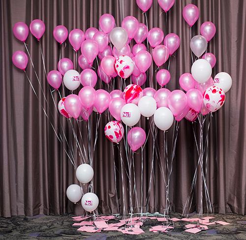 Style Masterclass Aberdeen, balloons, Luxe Lotto