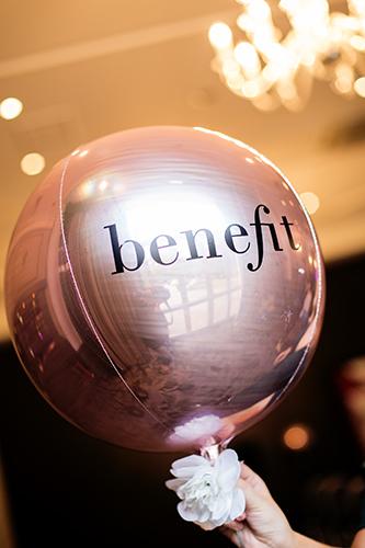 Style Masterclass Aberdeen, Benefit, Balloons