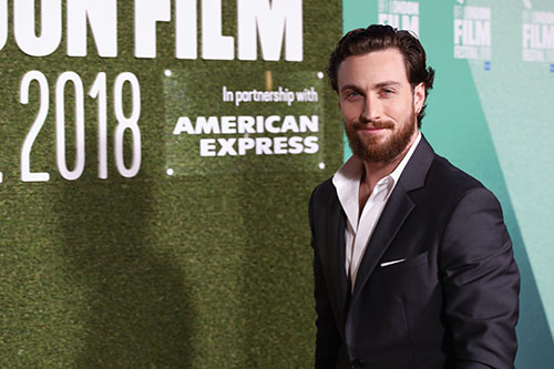 Aaron Taylor-johnson outlaw king