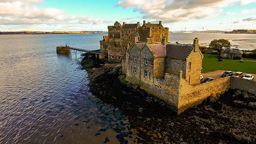 Blackness Castle, Outlaw King location