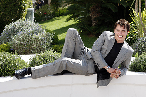 Featured Image for Scottish actor John Barrowman poses on A