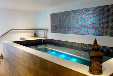 Kinross House Coach House Spa pool