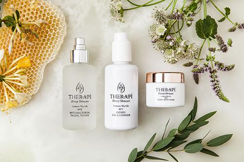 Therapi, honey skincare, organic skincare