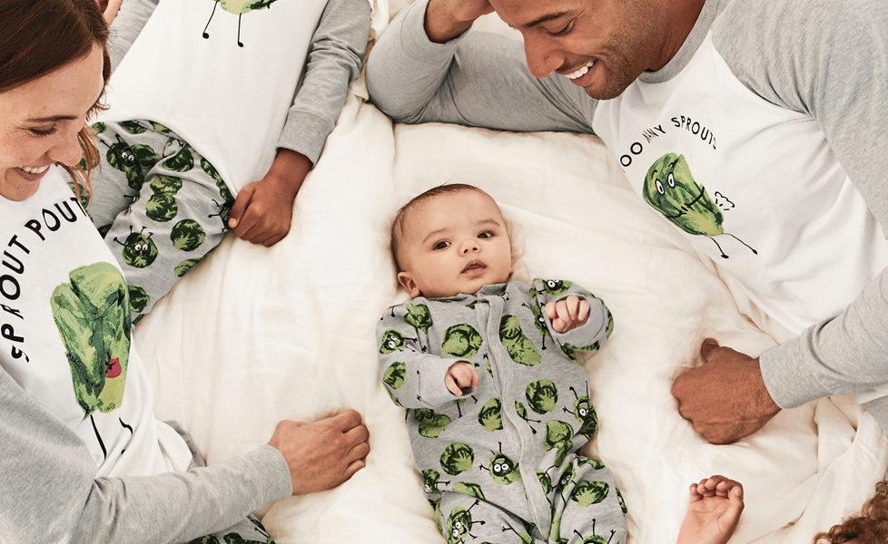Matching Family Pyjama Sets