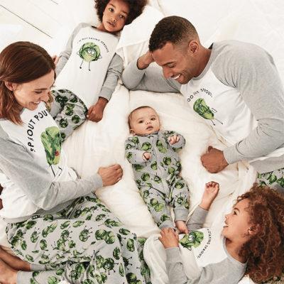 family matching christmas pyjamas UK