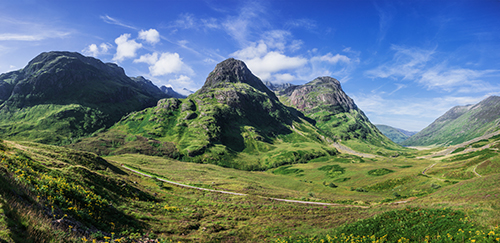 Glencoe, Mary Queen of Scots filming locations