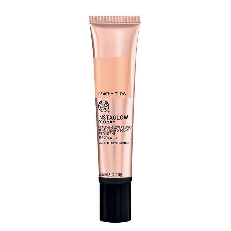 alternative to foundation The Body Shop instaglow CC cream