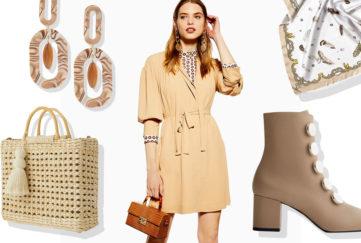 beige fashion