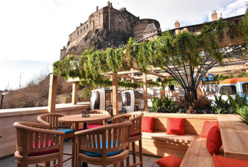 Cold Town House Roof Terrace