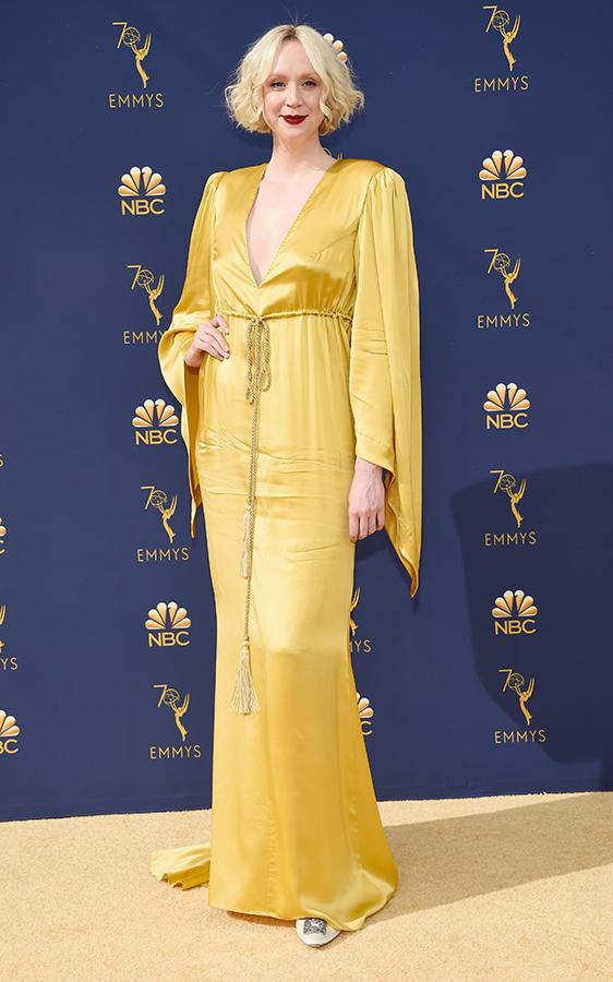 Gwendoline Christie yellow dress
