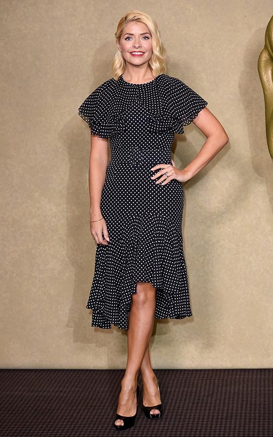 Holly Willoughby polka dot dress