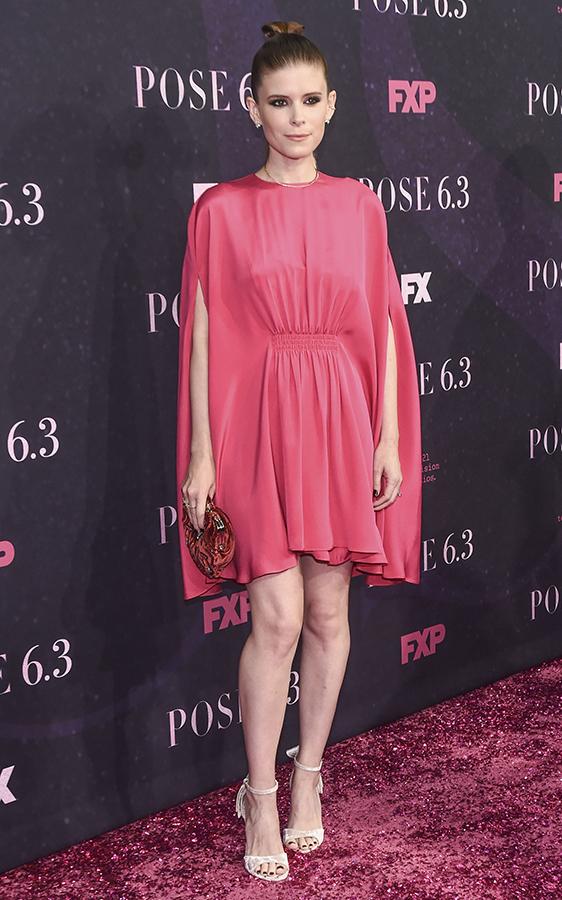 Kate Mara pink dress