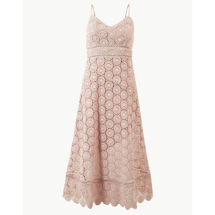 Marks and Spencer pink dress