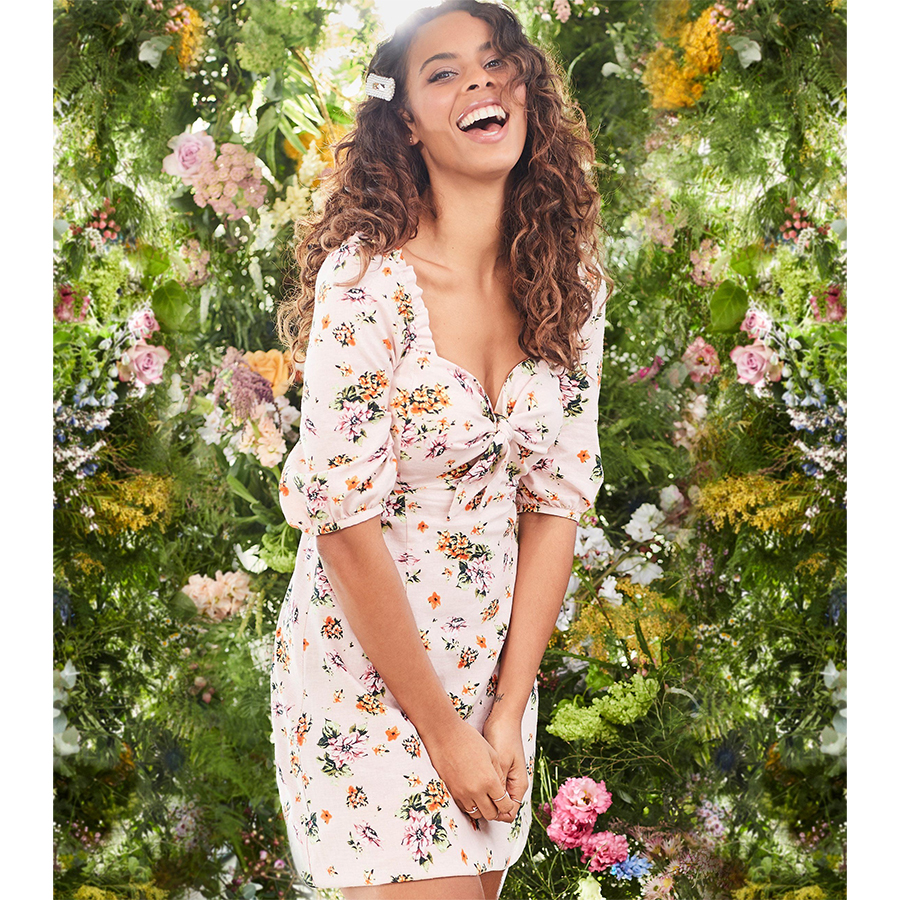 Rochelle Humes New Look dress