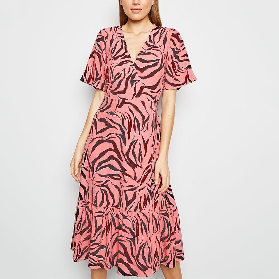 spring New Look print dress