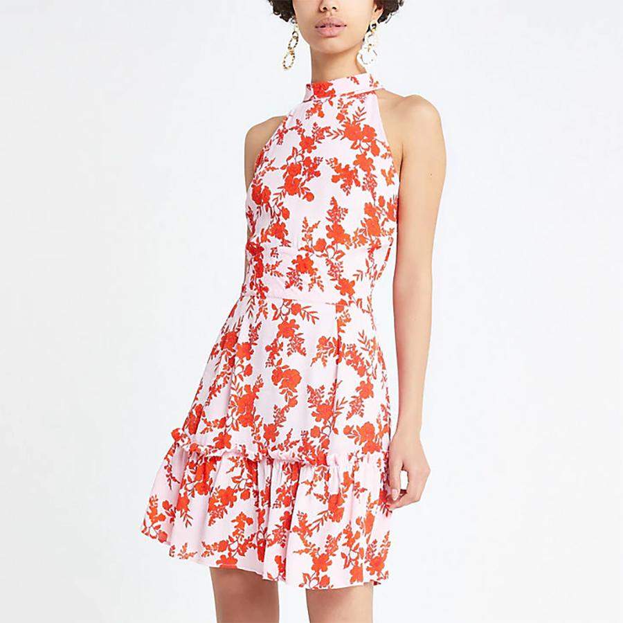 River Island halter dress