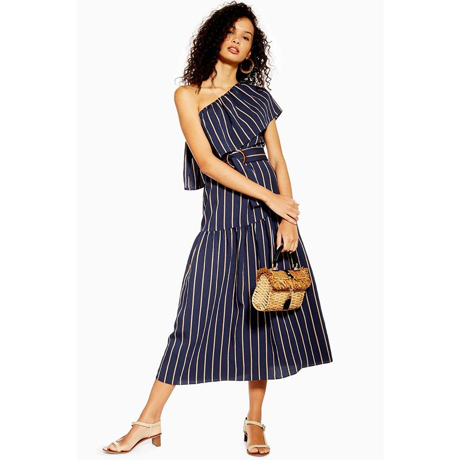 spring Stripe Dress Topshop