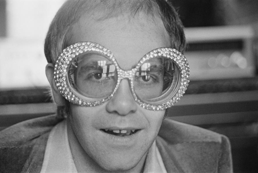 Elton John Glasses 1974