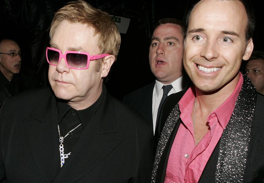 Elton John Glasses Pink
