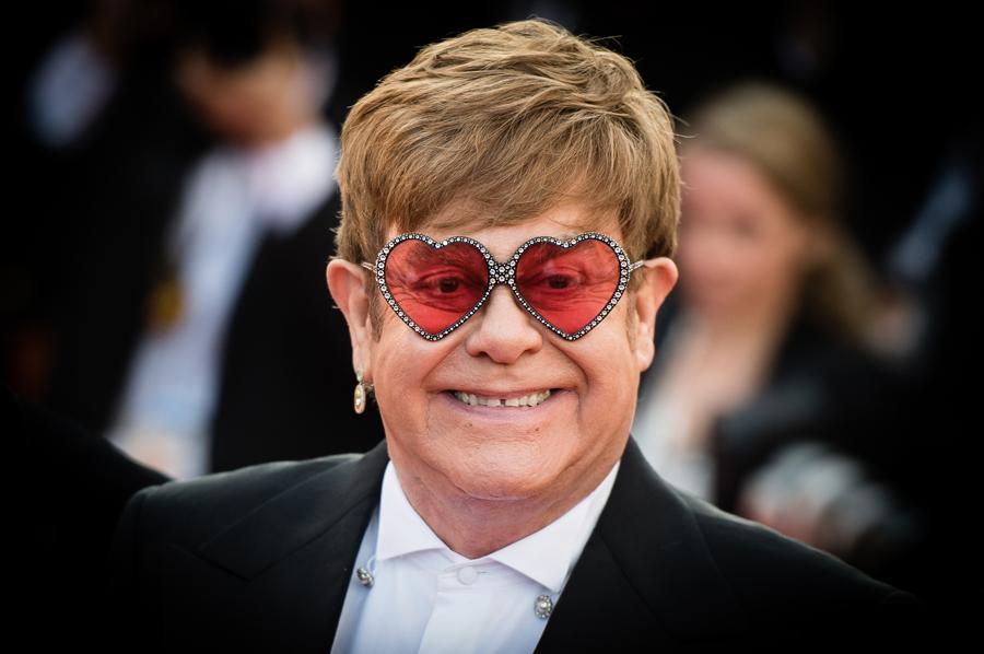 Elton John Heart Glasses Rocketman