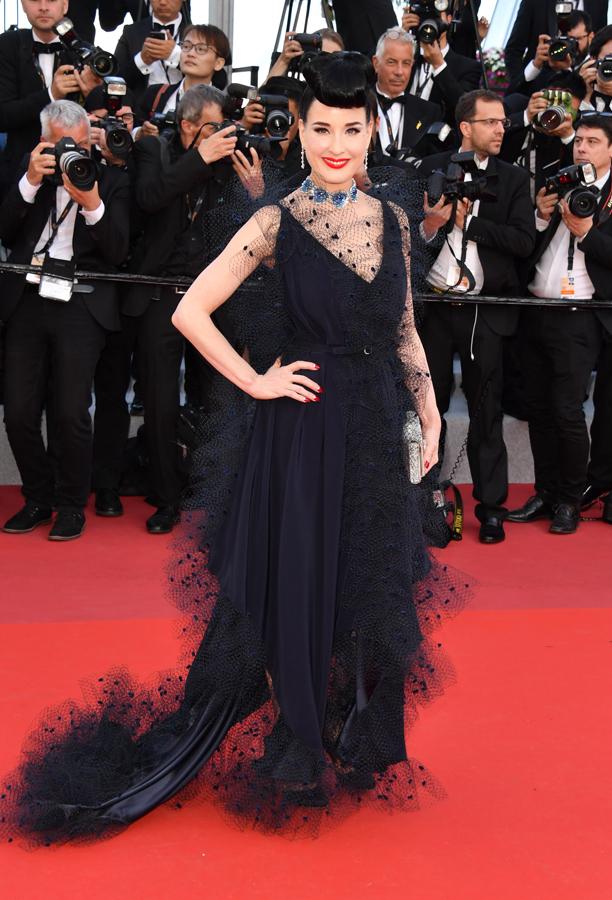 Dita von Teese Cannes