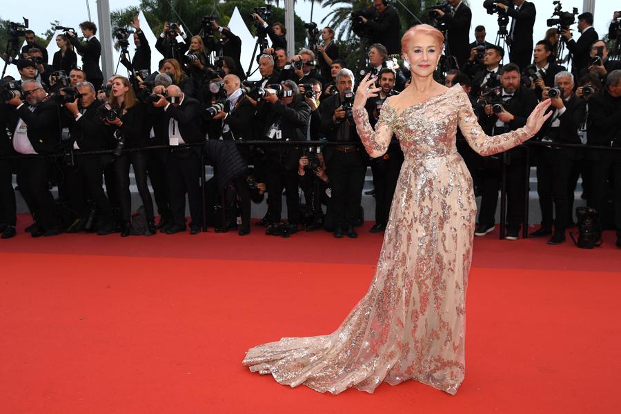 Dame Helen Mirren Cannes