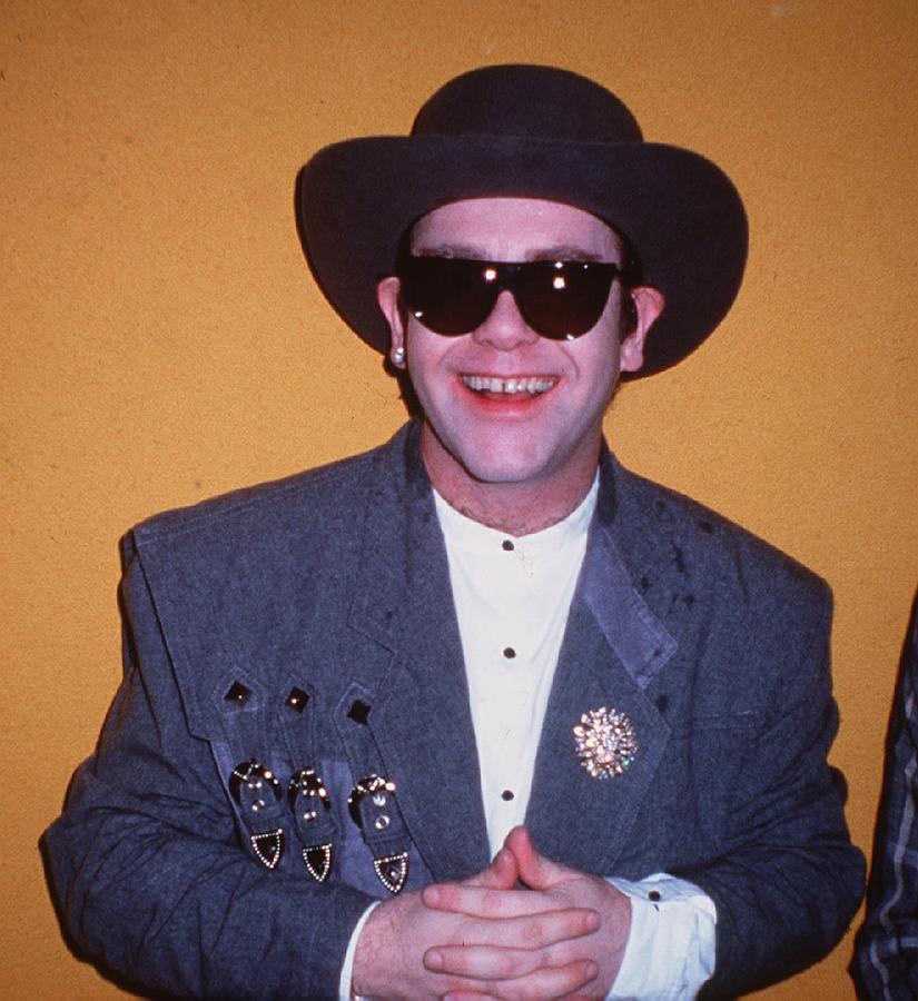 Elton John Glasses 1984