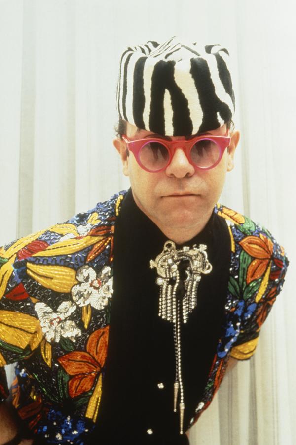 Elton John Glasses 1989