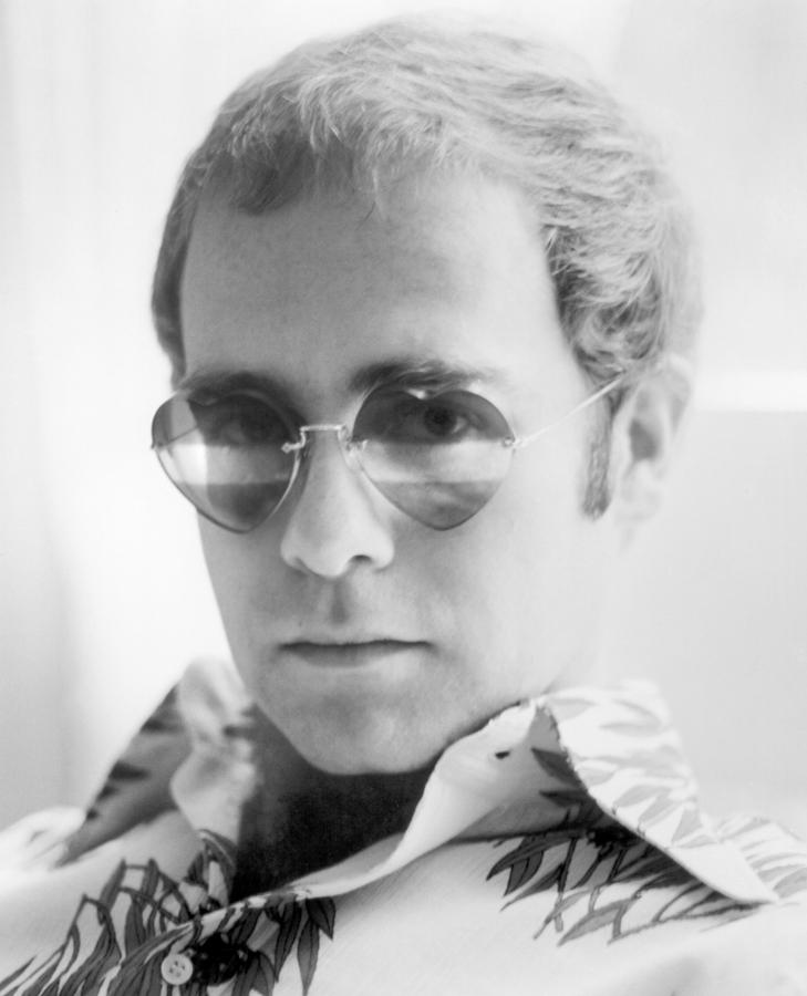 Elton John Heart Glasses 1973