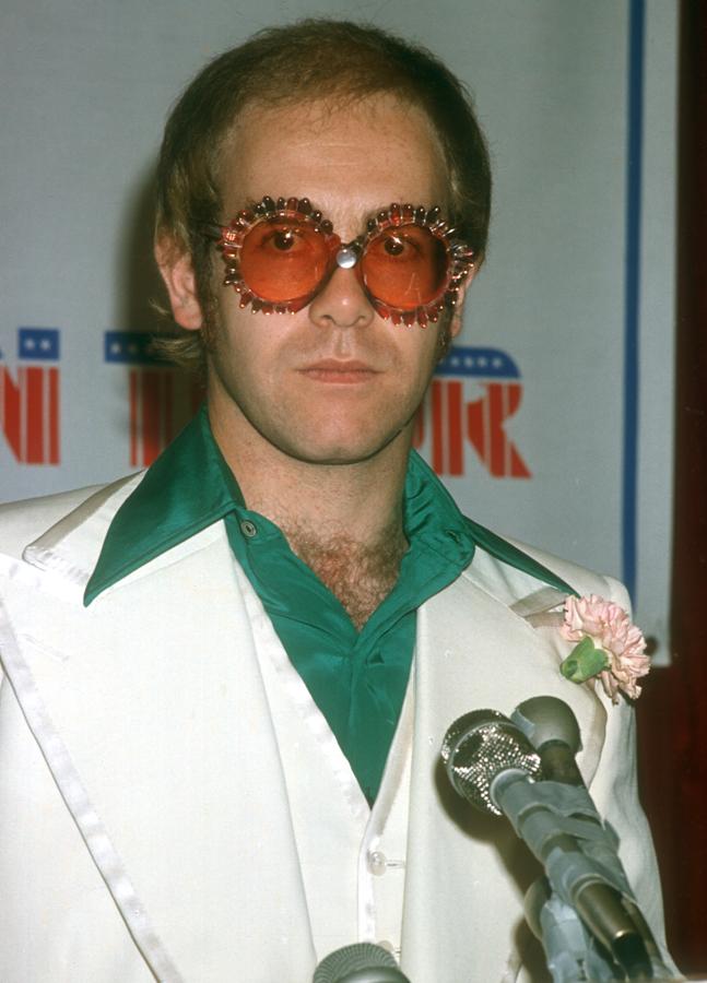 Elton John Glasses 1976