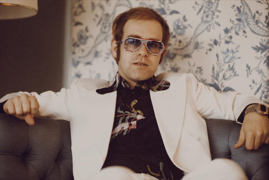 Elton John Glasses 1973