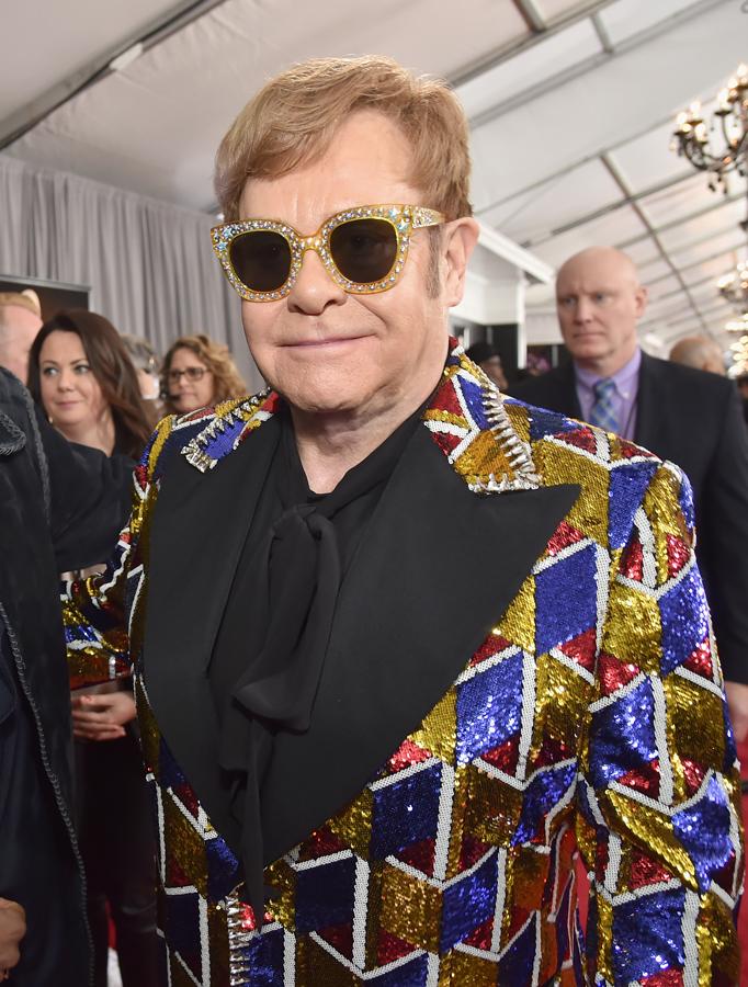 Elton John Glasses 2018