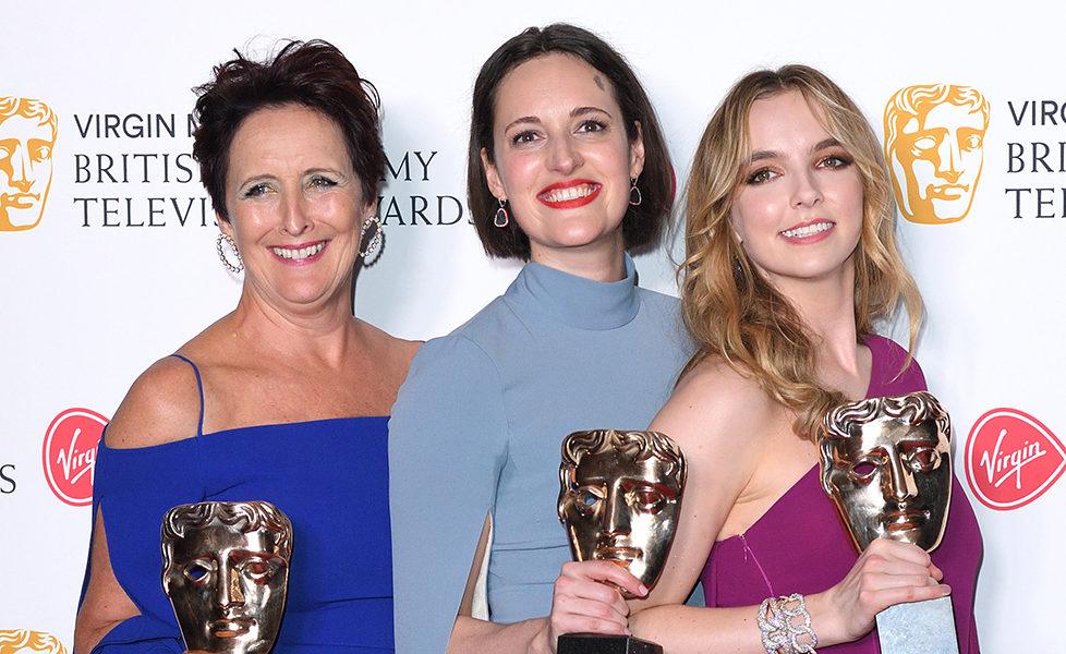 BAFTA TV Awards 2019 Jodie Comer, FIona Shaw, Phoebe Waller-Bridge