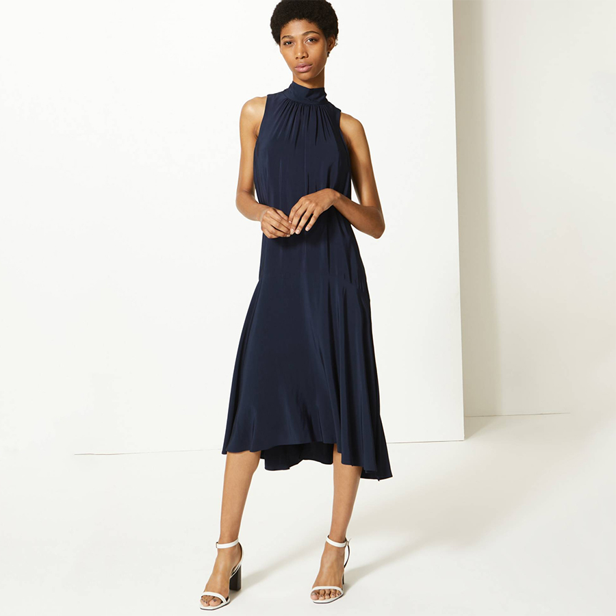 Marks and Spencer navy dress