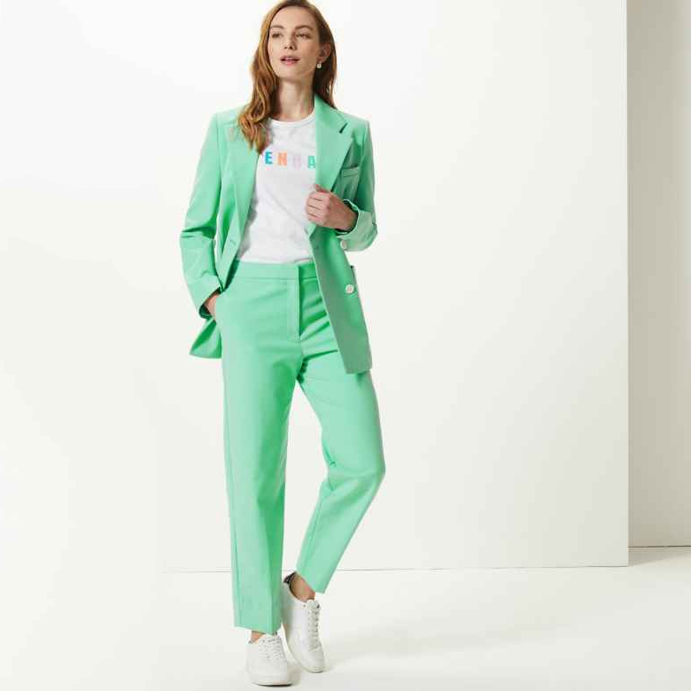 Marks and Spencer Green Suit