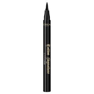 L'Oreal Tattoo Signature 24hr Liquid Eyeliner lasting makeup cat eye beauty dupes