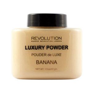 Luxury Banana Baking Powder by Makeup Revolution Beauty Dupes Baking Contouring